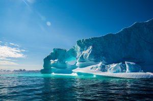 Grönland - Eisberge grün schimmernd