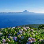 Azoren - Fernsicht auf Pico