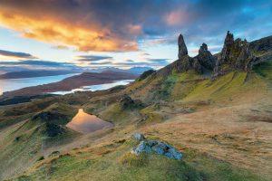 Schottland Skye Landschaft