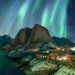 Norwegen-Lofoten - Nordlicht