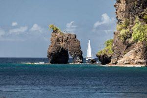 Karibik St. Vincent Wallilabou Bay