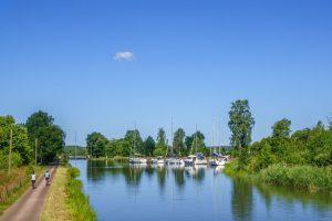 Fahrrad am Kanal Niederlande