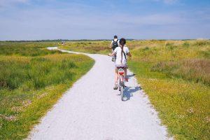 Fahrrad Tour durch die Polder Niederlande