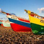 Kapverden Fischerboote