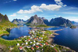 Norwegen-Lofoten - Henningsvaer