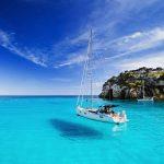 Mallorca Yacht vor Anker