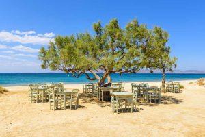 Kykladen Strandtaverne auf Naxos