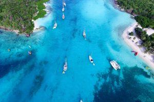 Karibik Tobago Kays Luftbild