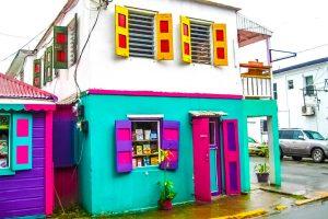 Karibik Haus auf Tortola