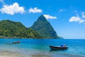 Karibik St. Lucia Pitons
