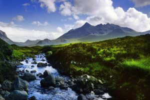 Schottland Bach in den Highlands